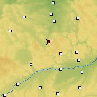 Nearby Forecast Locations - Weißenburg - Carte