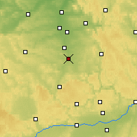 Nearby Forecast Locations - Roth - Carte