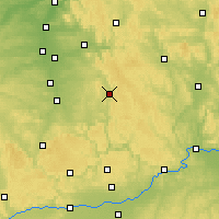 Nearby Forecast Locations - Neumarkt in der Oberpfalz - Carte