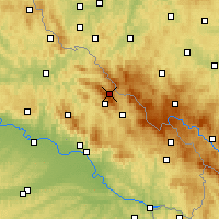 Nearby Forecast Locations - Großer Arber - Carte