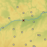 Nearby Forecast Locations - Neubourg-sur-le-Danube - Carte