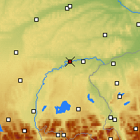 Nearby Forecast Locations - Mühldorf am Inn - Carte