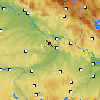 Nearby Forecast Locations - Fürstenzell - Carte