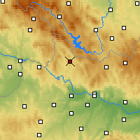 Nearby Forecast Locations - Rohrbach - Carte