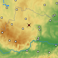 Nearby Forecast Locations - Allentsteig - Carte
