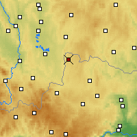 Nearby Forecast Locations - Gmünd - Carte