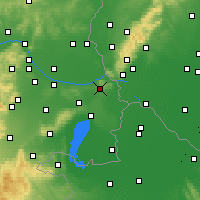 Nearby Forecast Locations - Spitzerberg - Carte