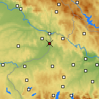 Nearby Forecast Locations - Schärding - Carte
