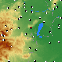 Nearby Forecast Locations - Eisenstadt - Carte