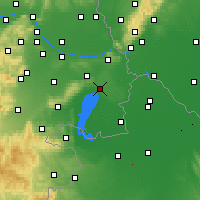 Nearby Forecast Locations - Neusiedl am See - Carte
