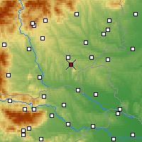 Nearby Forecast Locations - Bad Gleichenberg - Carte