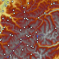 Nearby Forecast Locations - Idalpe - Carte