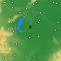 Nearby Forecast Locations - Andau - Carte