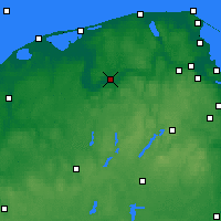 Nearby Forecast Locations - Lębork - Carte