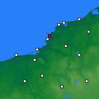 Nearby Forecast Locations - Darłowo - Carte