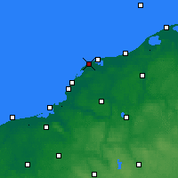 Nearby Forecast Locations - Jarosławiec - Carte