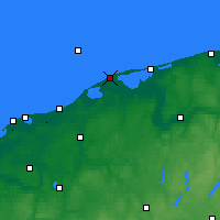 Nearby Forecast Locations - Czołpino - Carte
