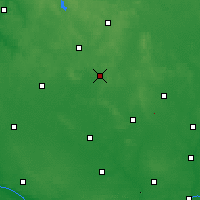 Nearby Forecast Locations - Mława - Carte