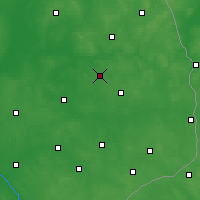 Nearby Forecast Locations - Białystok - Carte
