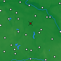 Nearby Forecast Locations - Inowrocław - Carte
