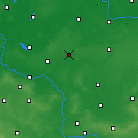 Nearby Forecast Locations - Leszno - Carte