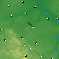 Nearby Forecast Locations - Piastów - Carte
