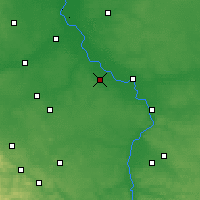 Nearby Forecast Locations - Kozienice - Carte