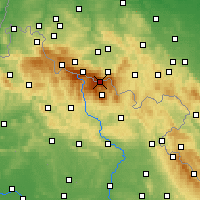 Nearby Forecast Locations - Sniejka - Carte