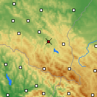 Nearby Forecast Locations - Lesko - Carte