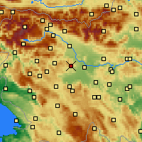 Nearby Forecast Locations - Medvode - Carte