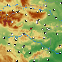 Nearby Forecast Locations - Celje - Carte