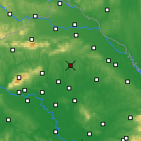 Nearby Forecast Locations - Križevci - Carte