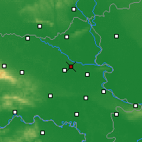Nearby Forecast Locations - Osijek - Carte