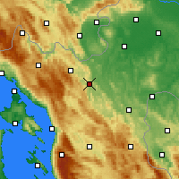 Nearby Forecast Locations - Ogulin - Carte