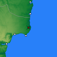 Nearby Forecast Locations - Chabla - Carte