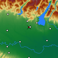 Nearby Forecast Locations - Ghedi - Carte