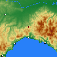 Nearby Forecast Locations - Giovi Pass - Carte