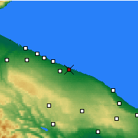 Nearby Forecast Locations - Bari - Carte
