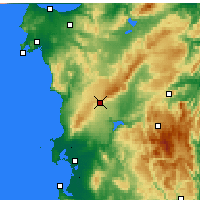 Nearby Forecast Locations - Macomer - Carte