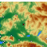 Nearby Forecast Locations - Akhisar - Carte