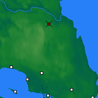 Nearby Forecast Locations - Lesogorskiy - Carte