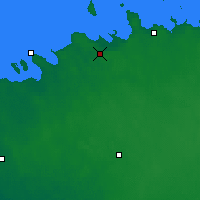 Nearby Forecast Locations - Tallinn - Carte