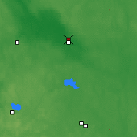 Nearby Forecast Locations - Borovitchi - Carte
