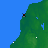 Nearby Forecast Locations - Ventspils - Carte