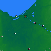 Nearby Forecast Locations - Riga - Carte