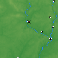 Nearby Forecast Locations - Zhukovka - Carte