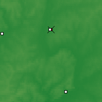 Nearby Forecast Locations - Charia - Carte