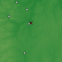Nearby Forecast Locations - Riajsk - Carte