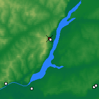 Nearby Forecast Locations - Khvalynsk - Carte