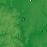 Nearby Forecast Locations - Ourioupinsk - Carte